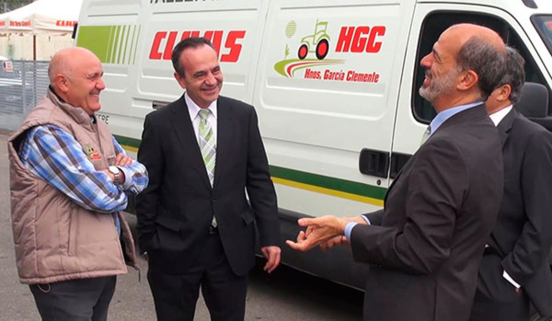 El director general de Claas ibérica visita Lorca