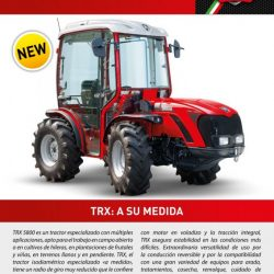 Nuevo modelo TRX 5800 de Antonio Carraro