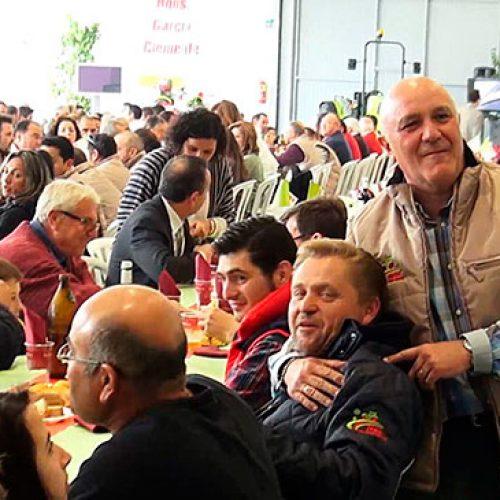 Hermanos García Clemente celebra una comida de hermandad