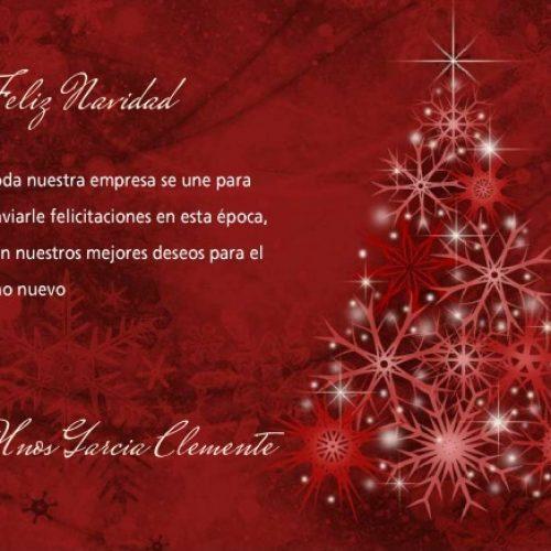 Felices fiestas y Prospero año nuevo