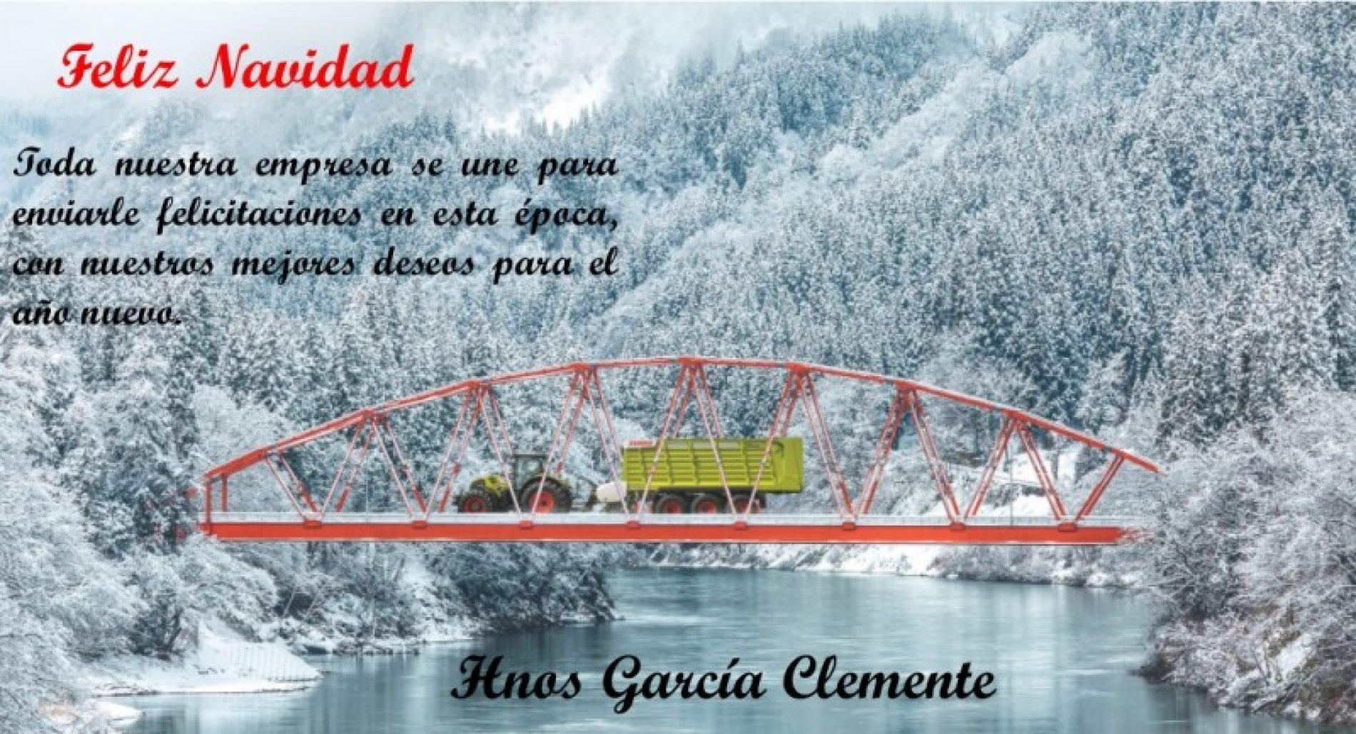 Felices Fiestas y prospero año nuevo 2018